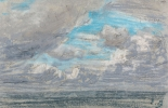 Eugène BOUDIN (1824-1898), Study of the Sky, 1855-1862, pastel on paper, 14 x 20.5 cm. Private collection. © Philip Bernard
