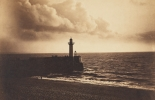 Gustave Le Gray  (1820-1884), Phare et jetée du Havre, 1857,  Los Angeles, J. Paul Getty Museum. © digital image courtesy of the Getty's Open Content Program