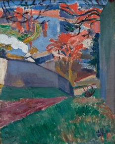 André DERAIN (1880-1954), Bougival, ca. 1904, oil on canvas, 41.5 x 33.5 cm. © MuMa Le Havre / David Fogel — © ADAGP, Paris, 2013
