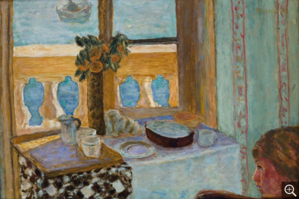 Pierre BONNARD (1867-1947), Interior at the Balcony, 1919, oil on canvas, 52 x 77 cm. © MuMa Le Havre / David Fogel