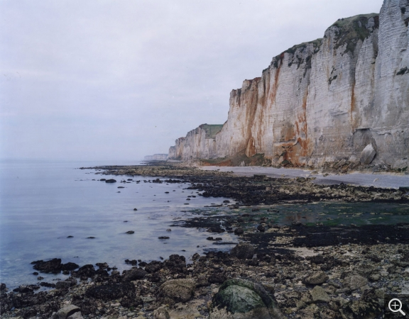 "Jem SOUTHAM (1950), Senneville-sur-Fécamp, ""The Rockefalls of Normandy"" series, 2007, color photography. © MuMa Le Havre / Jem Southam"