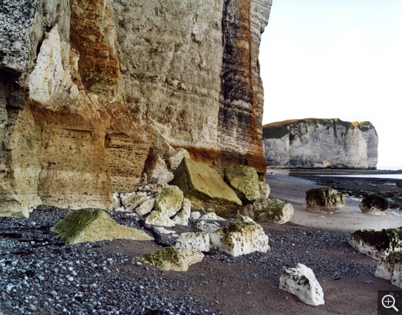 "Jem SOUTHAM (1950), Vaucottes, ""The Rockefalls of Normandy"" series, 2007, color photography. © MuMa Le Havre / Jem Southam"