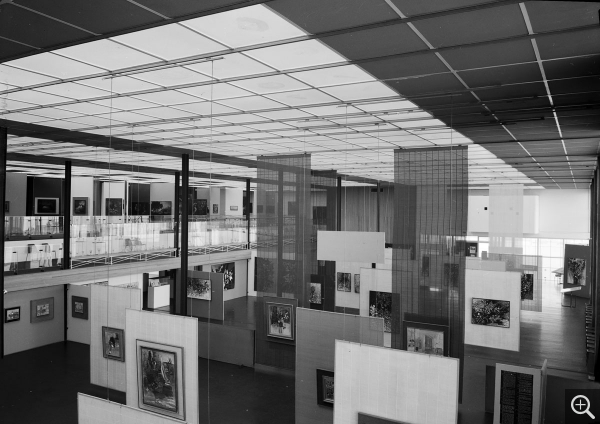 Interior view, June 1965. Photothèque de la DICOM © MEDDE / MLETR