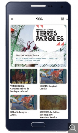Parcours audioguidé Terres de Paroles