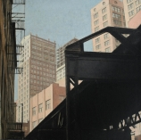 Bernard BOUTET DE MONVEL (1881-1949), New York, oil on canvas, 42.1 x 42.5 cm. © MuMa Le Havre / David Fogel — © ADAGP, Paris, 2013