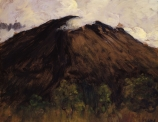 Charles COTTET (1863-1925), Mountain, ca. 1900-1910, oil on board, 53 x 74 cm. © MuMa Le Havre / Florian Kleinefenn