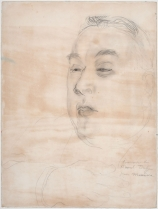 Raoul DUFY (1877-1953), Portrait of Gustave Coquiot, 1924, pencil, 52 x 40.5 cm. © MuMa Le Havre / Charles Maslard