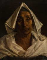 Jean-Victor SCHNETZ (1787-1870) ou Théodore GÉRICAULT (1791-1824), The Old Italian Woman, oil on canvas, 62.3 x 50 cm. © MuMa Le Havre / David Fogel
