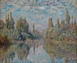 Claude MONET (1840-1926), The Seine at Vétheuil, 1878, oil on canvas, 50. 5  x 61.5 cm. © MuMa Le Havre / David Fogel