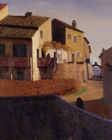 Félix VALLOTTON (1865-1925), Roman Bridge at Cagnes, 1923, oil on canvas, 73.5 x 60 cm. © MuMa Le Havre / Florian Kleinefenn