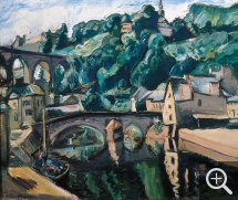Othon FRIESZ (1879-1949), View of Dinan, 1936, oil on canvas, 54 x 65 cm. © Saint-Quentin, musée Antoine Lécuyer — © ADAGP, Paris, 2013