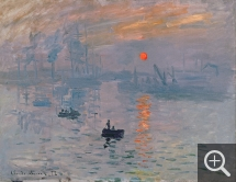 Claude MONET (1840-1926), Impression, soleil levant, 1872, oil on canvas, 50 × 65 cm. . © Bridgeman Images