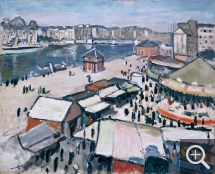 Albert MARQUET (1875-1947), Le Havre Fairgrounds, oil on canvas. © Bordeaux, musée des beaux-arts — © ADAGP, Paris, 2013