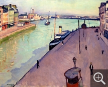 Albert MARQUET (1875-1947), Le Havre, ca. 1911, oil on canvas. © Zurich, collection E.G. Bührle