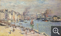 Claude MONET (1840-1926), The Old Port of Le Havre, 1874, oil on canvas, 60.3 x 101.9 cm. © Philadelphia Museum of Art, bequest of Mrs. Frank Graham Thomson