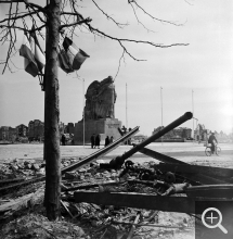 A.L. GUILLAUME, Destructions. War Memorial, 1945. Photothèque de la DICOM © MEDDE / MLETR