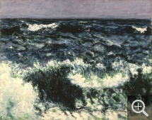 Roderic O'CONOR (1860-1940), La Vague, 1898, huile sur toile, 72,4 x 91,5 cm. © York, City Art Gallery