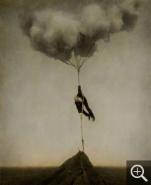 Robert & Shana PARKEHARRISON, Tethered Sky, 2005, photoengraving, 76.2 x 66 cm. © New York, galerie Jack Shainmann / Robert and Shana ParkeHarrison