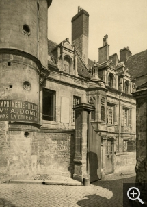 Paul ROBERT (1865-1898), Former Hôtel des Monnaies, Caen, 1895, rotogravure, 32.2 x 23 cm. Collection Chéreau. © Caen, ARDI Photographies / Paul Robert