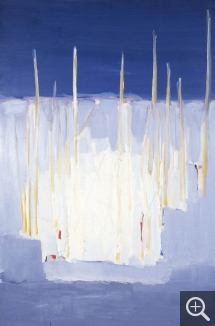 Nicolas de STAËL (1914-1955), The Masts, 1955, oil on canvas, 195 x 130 cm. Private collection. © J. Hyde — © ADAGP, Paris, 2014