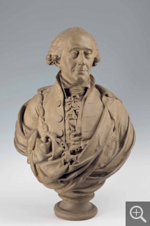 Bertel THORVALDSEN (1770-1844), Bust of Andreas Peter Bernstorff. Collection particulière. © A. Leprince