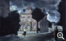 Carel WILLINK (1900-1983), De Jobstijding, 1932, oil on canvas, 61.5 x 92.5 cm. Amsterdam, Stedelijk Museum. © London, The Artist and Greengrassi