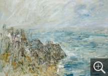 Eugène BOUDIN (1824-1898), The Pointe du Raz, 1897, oil on canvas, 64.5 x 90.5 cm. © MuMa Le Havre / Florian Kleinefenn