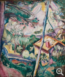Othon FRIESZ (1879-1949), House. La Ciotat, 1907, oil on canvas, 55 x 47 cm. © MuMa Le Havre / David Fogel — © ADAGP, Paris, 2013