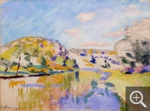 Armand GUILLAUMIN (1841-1927), Bords de la Creuse. Collection Senn-Foulds. © MuMa Le Havre / Charles Maslard