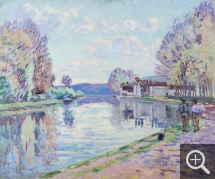 Armand GUILLAUMIN (1841-1927), The Seine at Samois, ca. 1898, oil on canvas, 60 x 73 cm. © MuMa Le Havre / Charles Maslard