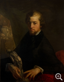 Jean-François MILLET (1814-1875), Portrait of Charles-André Langevin, 1845, oil on canvas, 92 x 73 cm. © MuMa Le Havre / David Fogel