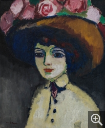 Kees van DONGEN (1877-1968), The Parisienne of Montmartre, ca. 1907-1908, oil on canvas, 64.5 x 53.2 cm. © MuMa Le Havre / David Fogel — © ADAGP, Paris, 2013