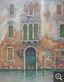 M. YAMAOKA, Venise, oil on canvas, 145 x 113 cm. Senn-Foulds collection. © MuMa Le Havre / Charles Maslard
