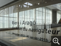 "Partial view of the ""Riera I Arago. Le rêve d'un navigateur"" exhibition. © MuMa Le Havre / Renaud Dessade — © ADAGP, Paris, 2013"
