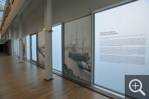 "Partial view of the ""Pissarro dans les ports"" exhibition. © MuMa Le Havre / Laurent Lachèvre"