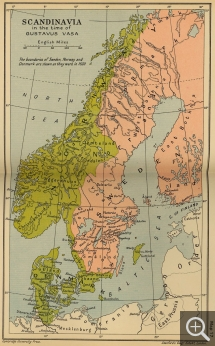 Map of Denmark from 1520. © Austin, University of Texas