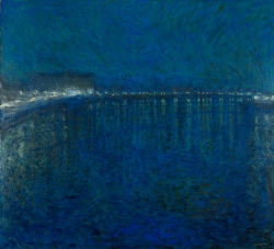 Eugène JANSSON (1862-1915), Nocturne, 1900, oil on canvas, 136 x 151 cm. Gothenburg Museum of Art, Sweden. © Hossein Sehatlou - Göteborgs konstmuseum - 2015 / GKM 0315
