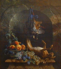 Alexandre-François DESPORTES (1661-1743), Still life, 1706, oil on canvas, 108.5 x 96.5 cm. © MuMa Le Havre
