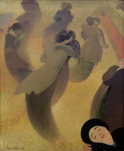 Félix VALLOTTON (1865-1925), The Waltz, 1893, oil on canvas, 61 x 50 cm. © MuMa Le Havre / David Fogel