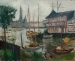 Othon FRIESZ (1879-1949), Yacht Basin at Sainte-Anne, Antwerp, 1906, oil on canvas, 50.5 x 62 cm. © MuMa Le Havre / David Fogel — © ADAGP, Paris, 2013