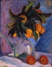 Jean PUY (1876-1960), Still Life, Bouquet of Oranges in a Pitcher or Collioure, 1913, oil on wood, 46 x 38 cm. © MuMa Le Havre / Florian Kleinefenn — © ADAGP, Paris, 2015