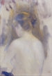 Pierre-Auguste RENOIR (1841-1919), Woman Seen from the Back, ca. 1875-1879, oil on canvas, 27.1 x 22.1 cm. © MuMa Le Havre / Florian Kleinefenn