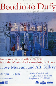 Boudin to Dufy, Impressionist and Other Masters from the Musée des Beaux-Arts, Le Havre